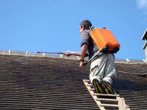 traitement hydrofuge de toiture Pornichet