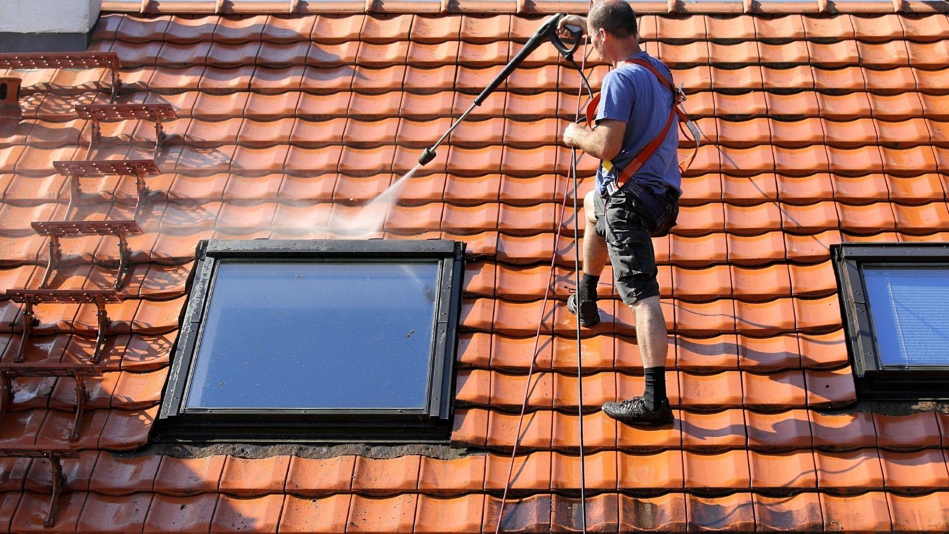 Nettoyage toiture Nantes